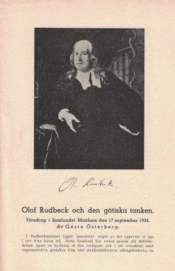 Olof Rudbeck och den götiska tanken