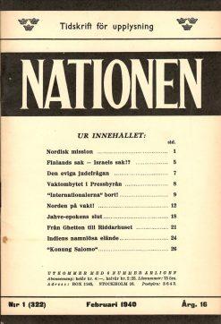 Nationen nummer 322
