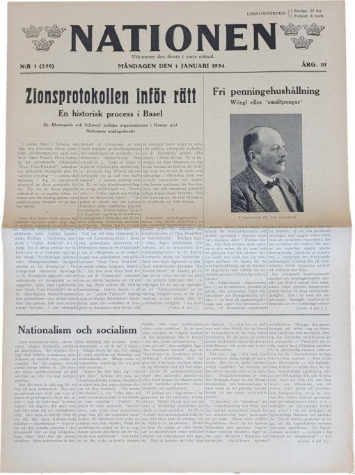 Nationen nummer 1-1934